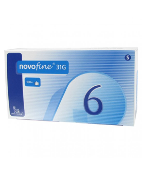 NovoFine Aghi Insulina 31G 6mm 100 Pezzi - Farmaci.me