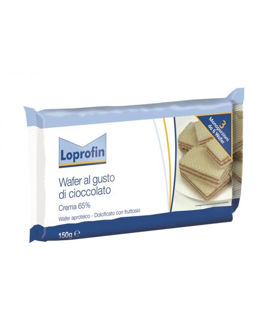 Loprofin Wafers Al Cioccolato A Ridotto Contenuto Proteico 150 g