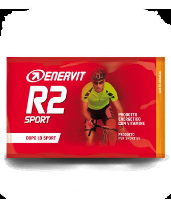 Enervit R2 Sport Integratore Alimentare Gusto Arancia 1x50g - Farmafamily.it