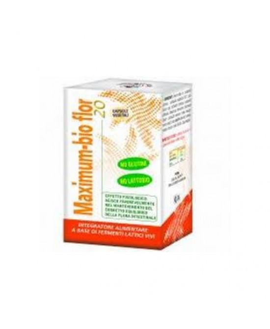 Maximum Bio Flor 20 Integratore Alimentare 40 Capsule