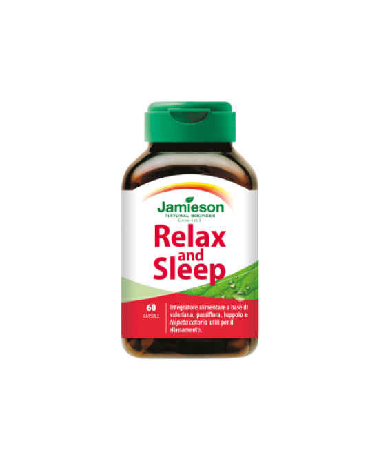 Jamieson Relax And Sleep Integratore Alimentare 60 Capsule