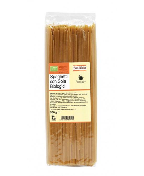 Fior Di Loto Spaghetti Con Soia Biologico 500g