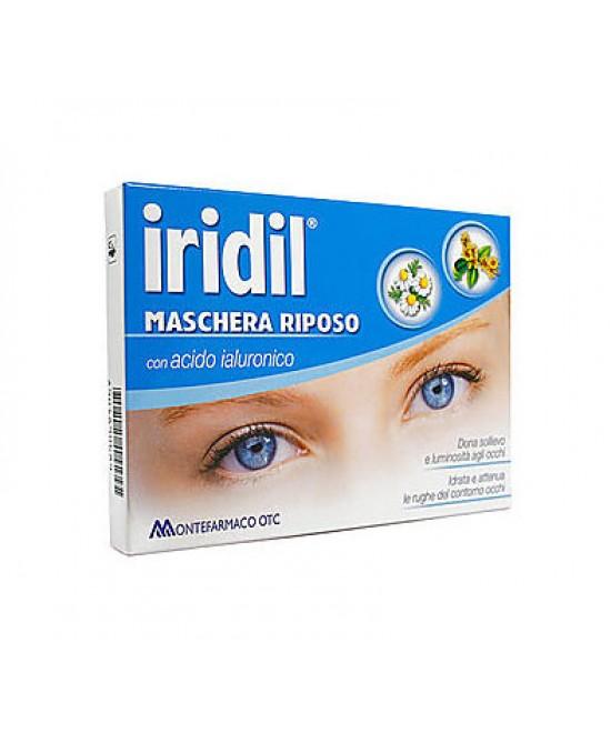 Montefarmaco Otc Iridil Maschera Riposo Con Acido Ialuronico Monouso - Farmacia Giotti