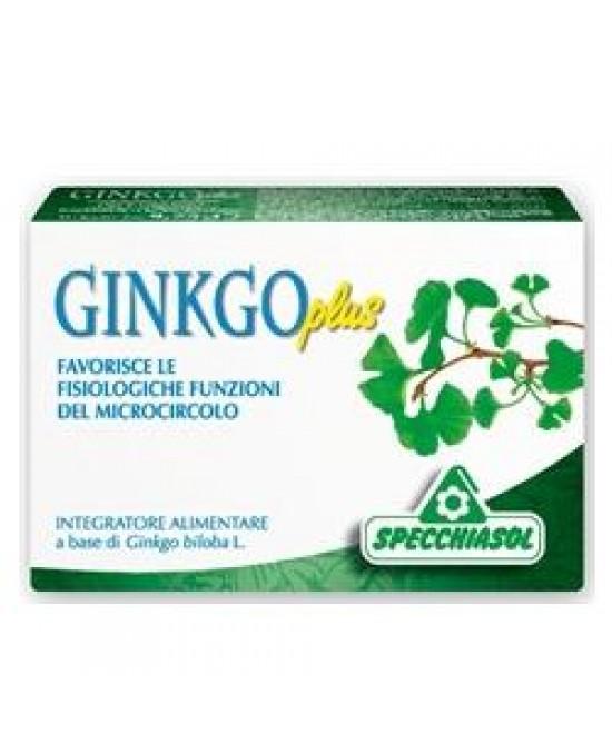Ginkgo Plus 30cps - Parafarmacia la Fattoria della Salute S.n.c. di Delfini Dott.ssa Giulia e Marra Dott.ssa Michela