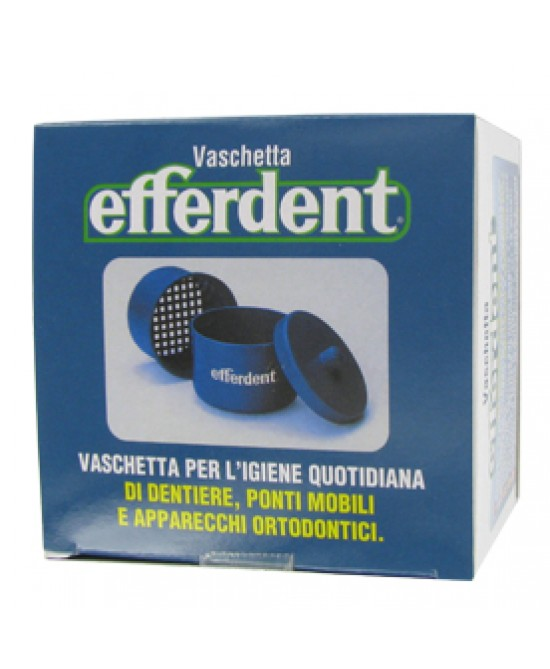 Efferdent Vaschetta Portaprotesi Quotidiana 1 Pezzo - Antica Farmacia Del Lago