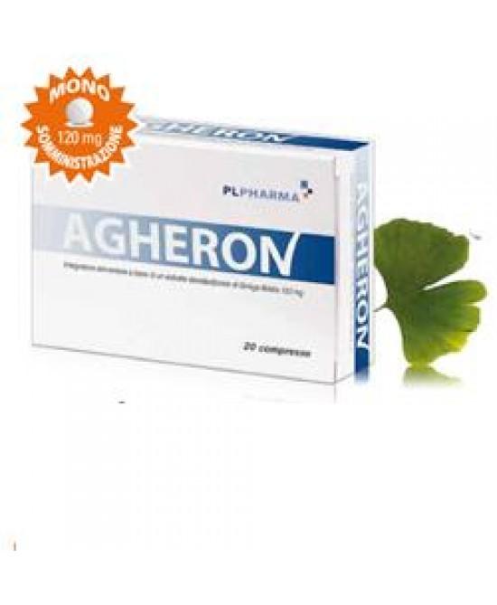 Agheron 20cpr - Parafarmacia la Fattoria della Salute S.n.c. di Delfini Dott.ssa Giulia e Marra Dott.ssa Michela