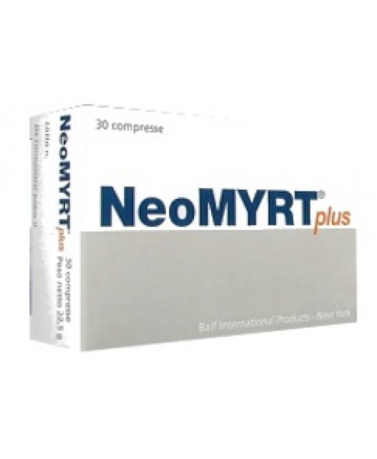 Neomyrt Plus Integratore Microcircolo 30 Compresse