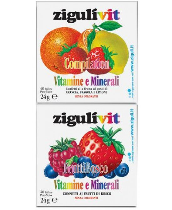 Ziguli Vit Compilation 40conf - latuafarmaciaonline.it