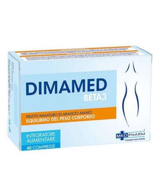 Med Pharm Dimamed Beta 3 Integratore Alimentare 40 Compresse