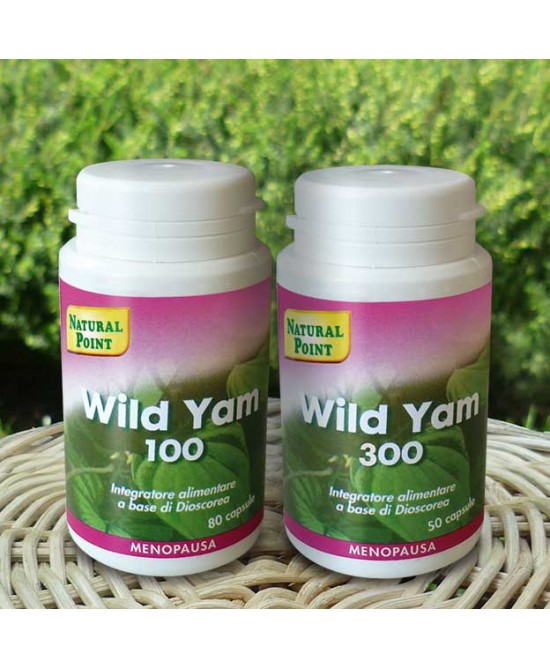 Natural Point Wild Yam 300 Integratore 50 Capsule