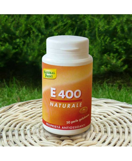 Natural Point E400 Natural Soy Oil Integratore Alimentare 50 Perle