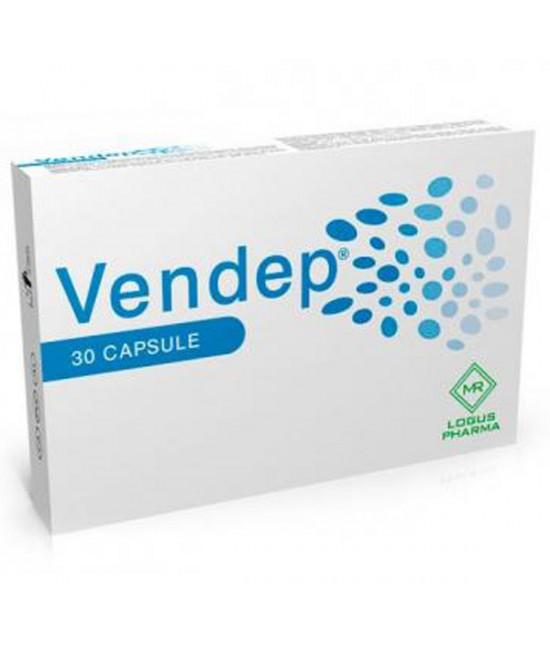 Logus Pharma Vendep Integratore Alimentare 30 Capsule - Farmabellezza.it