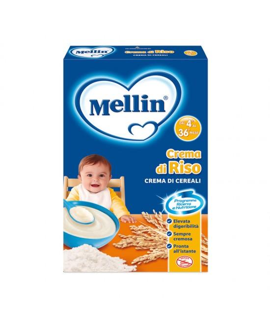 Mellin Creme Di Cereali Crema Di Riso 250g - Farmapage.it