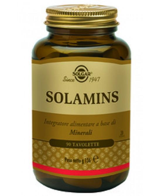 Solgar Solamins 90 Tavolette - Antica Farmacia Del Lago