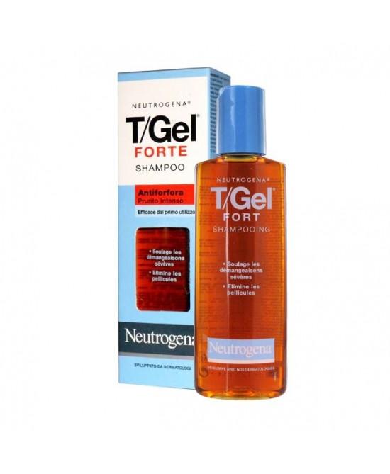 Neutrogena T/Gel Shampoo Terapeutico Antiforfora Forte 130ml - Farmaci.me