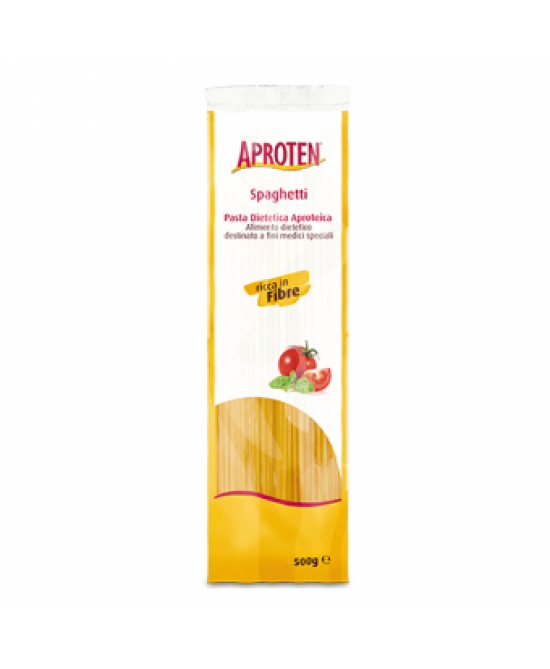 Aproten Spaghetti Pasta Aproteica 500g - Farmafamily.it