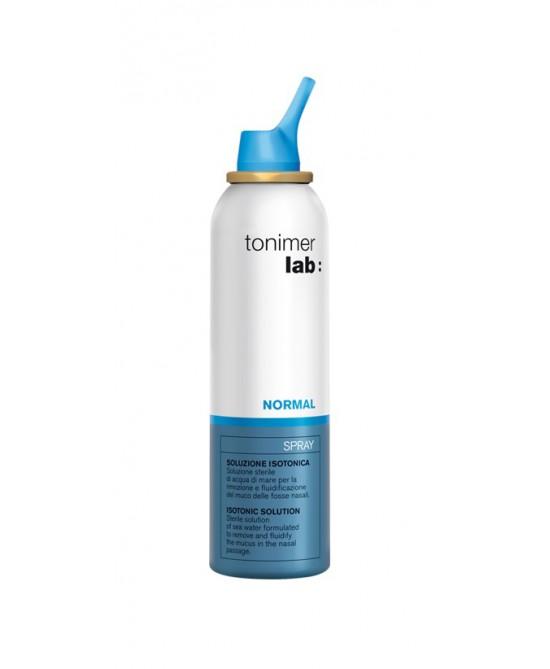 Tonimer Lab Normal Spray Soluzione Isotonica 125ml