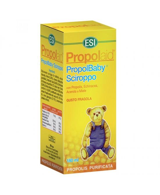 Esi Propolaid PropolBaby Sciroppo Integratore Difese Immunitarie Fragola 180 ml
