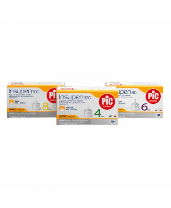 Pic Insupen Ago Penna 29g 12mm 100 Pezzi - La farmacia digitale
