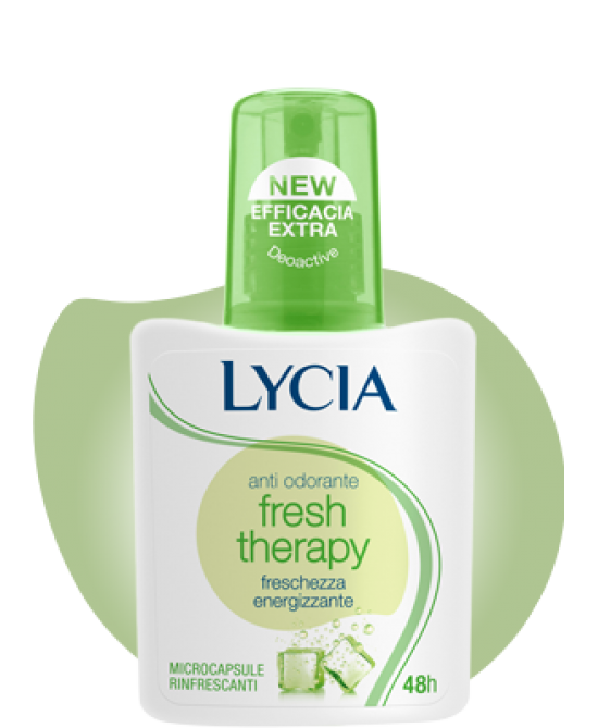 Lycia Spray Antiodorante Fresh Terapy 75ml - Sempredisponibile.it