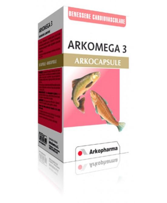 Arkopharma Arkomega 3 Colesterolo Integratore Alimentare 50 Capsule - FARMAEMPORIO