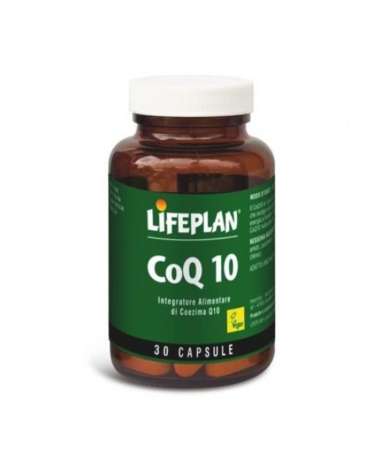 LifePlan CoQ10 30 Capsule (scadenza 30/04/2020) - Iltuobenessereonline.it