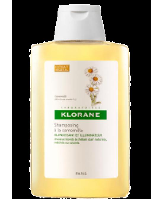 Klorane Shampoo Alla Camomilla Capelli Biondi O Castano Chiaro 400ml - Farmafamily.it