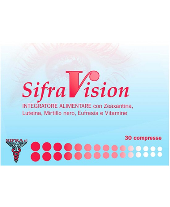 Edos Group SifraVision Integratore Alimentare 30 Compresse - La farmacia digitale