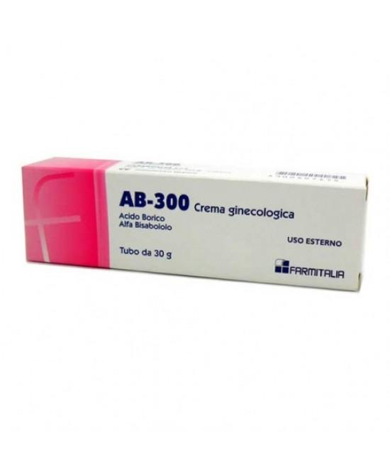Ab 300 Crema Ginecologica 1% 30g - La farmacia digitale