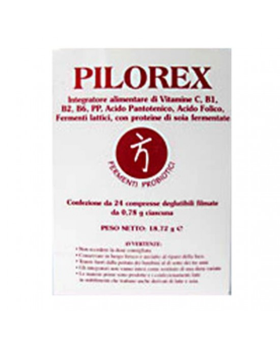 Pilorex 24cpr - Farmacia 33