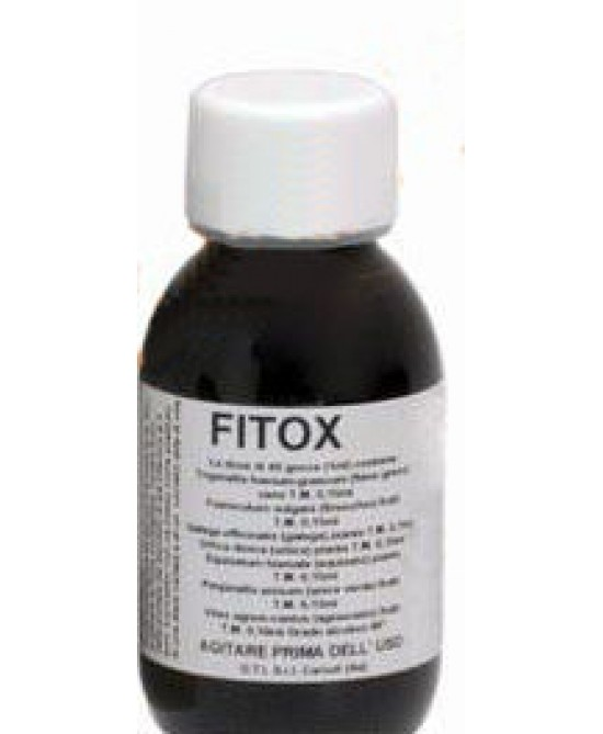 Fitox 65 Gocce Integratore Alimentare 100ml