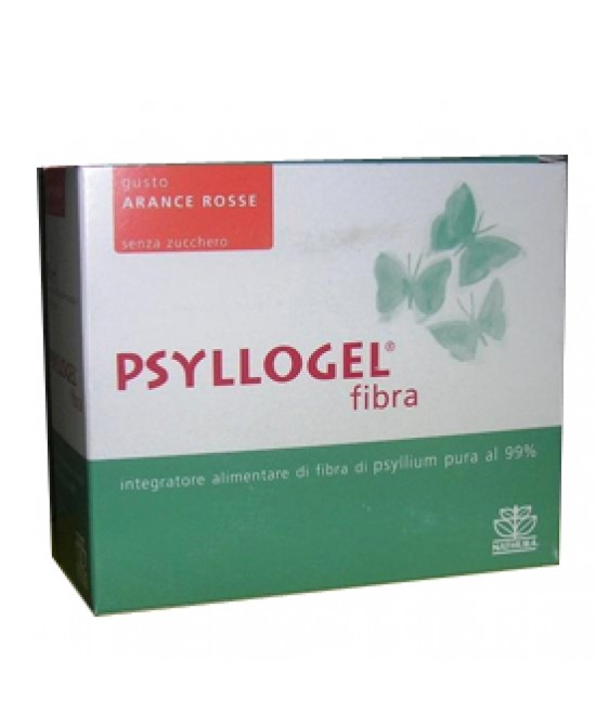 Psyllogel Fibra Arance Rosse 20 Bustine Integratore - Farmaciaempatica.it
