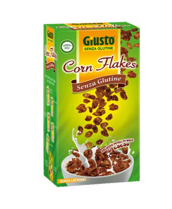 Giusto Corn Flakes Con Cacao Senza Glutine 250g - Farmajoy