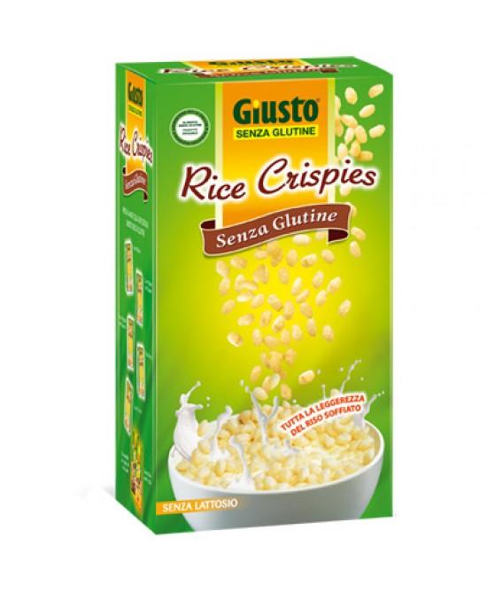 Giusto Rice Crispies Senza Glutine 250g - Parafarmacia la Fattoria della Salute S.n.c. di Delfini Dott.ssa Giulia e Marra Dott.ssa Michela
