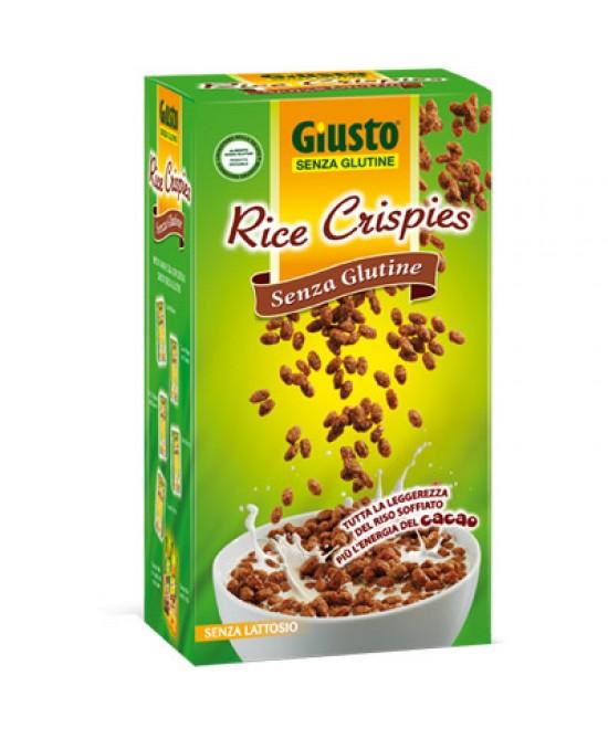 Giusto Rice Crispies Con Cacao Cereali Senza Glutine 250g - Parafarmacia la Fattoria della Salute S.n.c. di Delfini Dott.ssa Giulia e Marra Dott.ssa Michela
