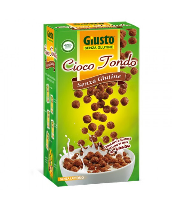 Giusto Cioco Tondo Di Mais Al Cacao Senza Glutine 250g - FARMAPRIME
