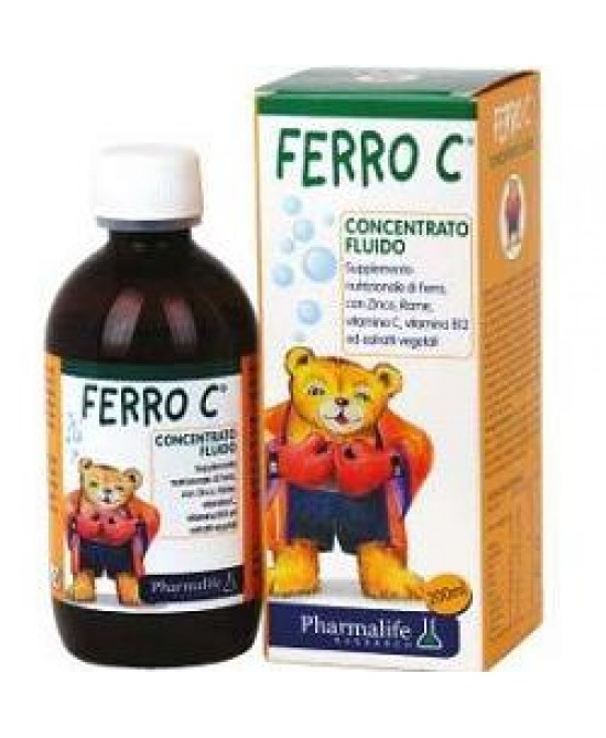 Pharmalife Ferro C 200ml - Iltuobenessereonline.it