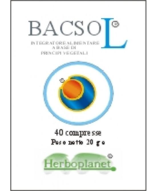 Herboplanet Bacsol Integratore 40 Compresse