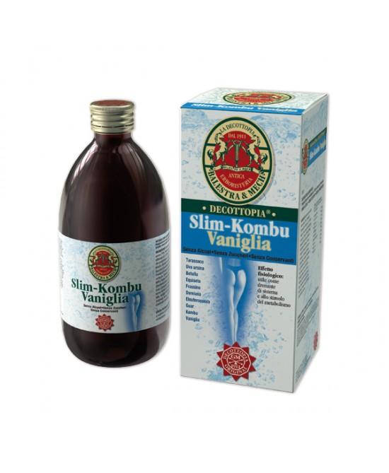 Tisanoreica Slim-Kombu Vaniglia 500ml - FARMAEMPORIO