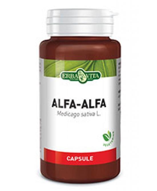 ErbaVita Capsule Monoplanta Alfa-Alfa  Integratore Alimentare 60 Capsule - Zfarmacia