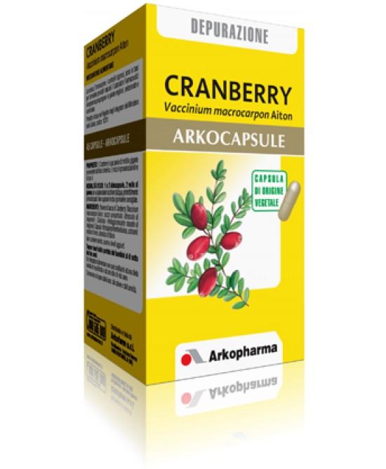 Arkocapsule Cranberry Integratore 45 Capsule offerta