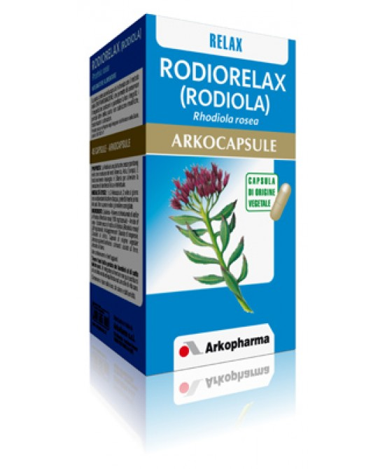 Arkopharma Rodiola Arkocapsule Integratore Alimentare 45 Capsule