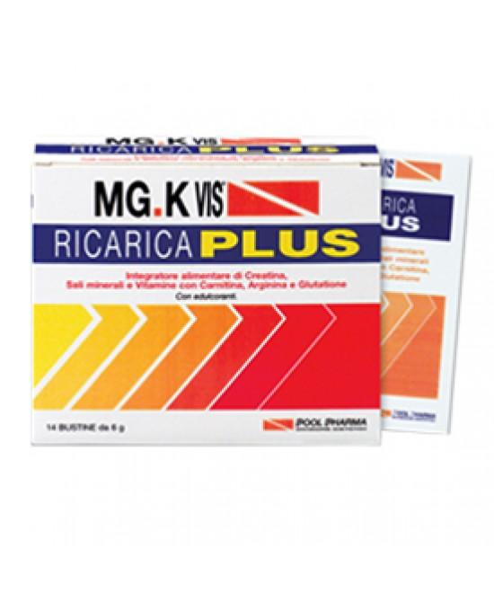 MG.K VIS RICARICA PLUS - Zfarmacia