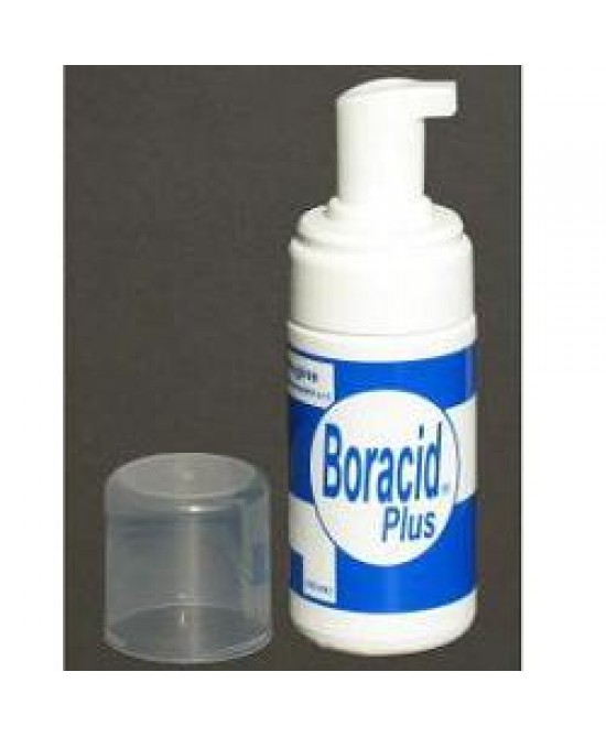 Boracid Plus Schiuma Ginecologica 100 Ml