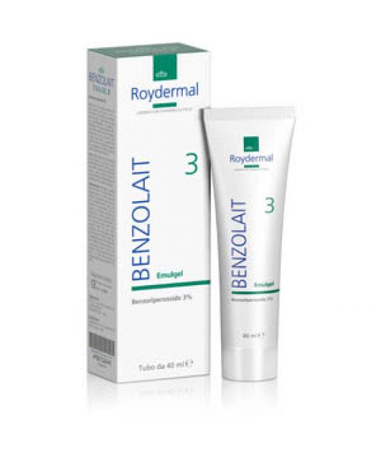 Benzolait AB3 Emulgel Trattamento Pelli Grasse e Tendenza Acneica 40 ml