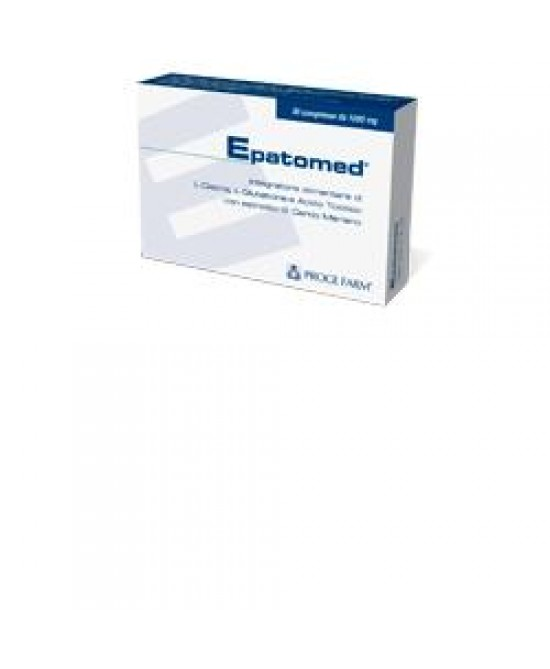 Epatomed Integratore Fegato 30 Compresse - Farmastar.it