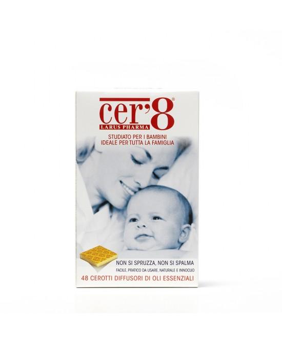 Larus Pharma Cer'8 Family Diffusori Di Oli Essenziali 48 Cerotti - Farmafamily.it