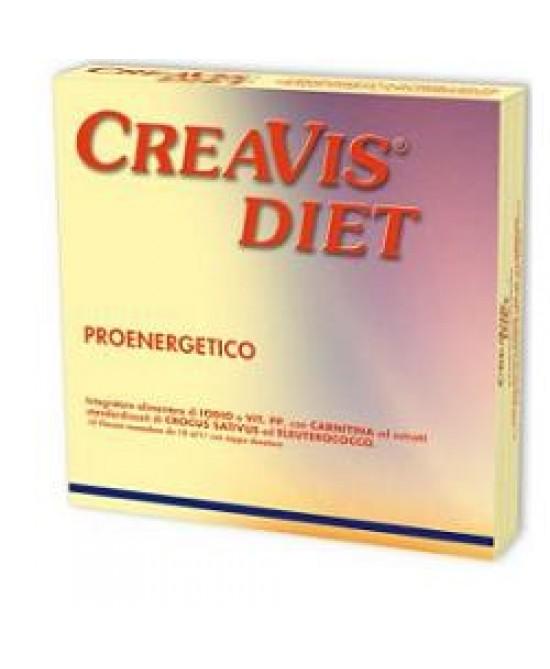 Creavis Diet Integratoe Energetico 10 Flaconcini offerta