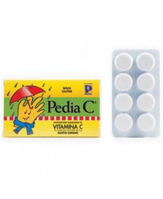 Pedia C Limone 24cpr Mastic
