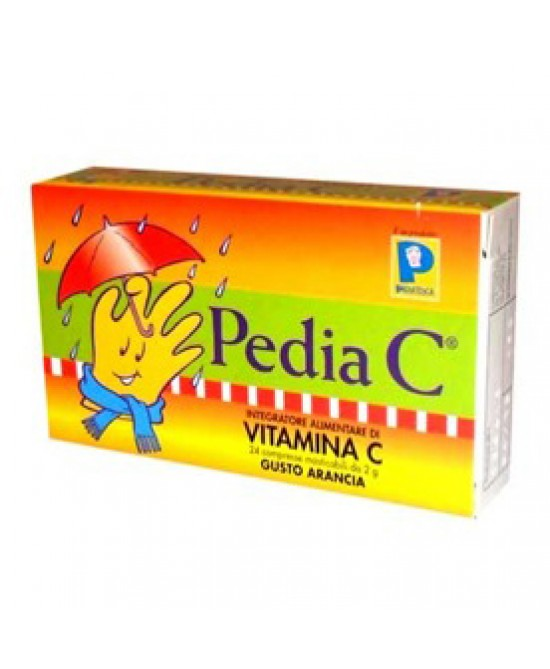 Pediac Arancia 24cpr - La farmacia digitale
